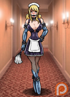 Bondage Maid Lucy (Patreon Reward) by Re-Maker