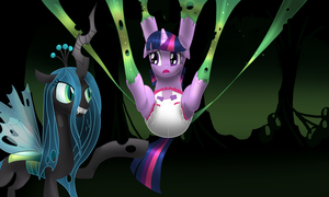 Caught by Chrysalis by hodgepodgedl