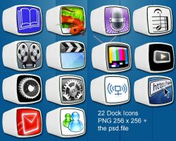 cube dock icon by puglialemon