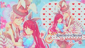 Ririchiyo x Soushi in Wonderland by akumaLoveSongs