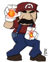 Mario by Luvcnkll