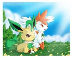 COMMISSION .:KIRARA+SAKI:. by PEQUEDARK-VELVET