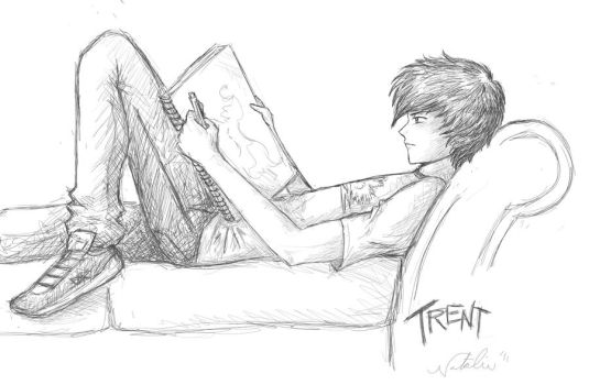 Trent Parker by nataliewhipple