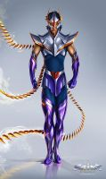 Phoenix Ikki - Saint Seiya Project by Aioras