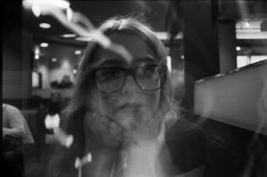 Double Exposure, Collaborative Self-Portrait by adriengnotpiy