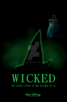 Wicked movie  poster by Cor104