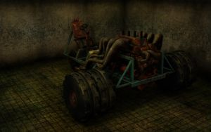 Monster Tractor by Reapsert