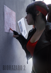 Claire Redfield Raccoon City map by Queen-Stormcloak