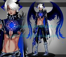 MALE ADOPT 99 [ Auction ] [ CLOSED ] by GattoAdopts
