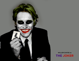 WILLEM DAFOE AS THE JOKER - CONCEPT by MrSteiners