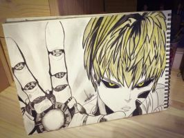 One Punch Man - Genos by ZooTatsuya