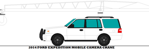 2014 Ford Expedition Mobile Camera Crane by mcspyder1