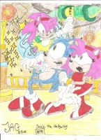 sonic comic cover numba194 by sonamy33