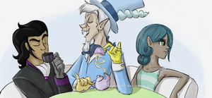 Villain Tea Party Humanized by FEuJenny07