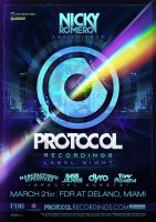 Protocol Recordings Miami by ruudvaneijk