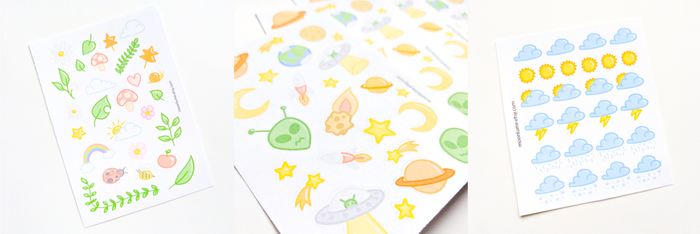 Little Things stickers by FrozenNote