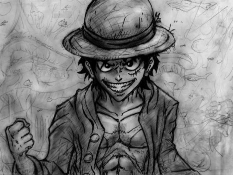 My Luffy by Gagurum