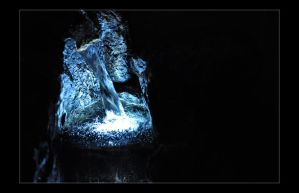 Indoor Water Fountain with LED by Forestina-Fotos