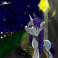 Rarity in Rain by Camaine
