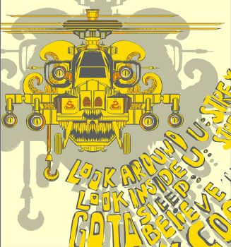 night vale_yellow helicopter by mad-aka-hatter