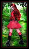 Lady In Red 5 by LadyDeathDemon