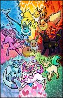 Eeveelutions by twapa