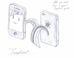 Now coming near you the Twiphone. by R1pperAnthon