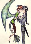 the little dragon is in love by UkeHicForEva