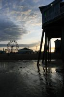 Old Orchard Beach Pier by deadrose333
