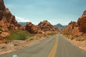 Valley of Fire, Nevada, USA by FastDevil76
