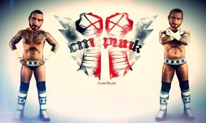 Cm Punk by Aminebjd