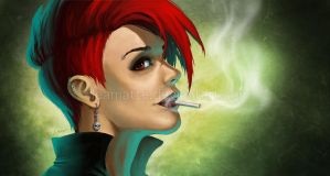 Smoking by leamatte