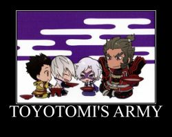 Toyotomi's army by cellamare