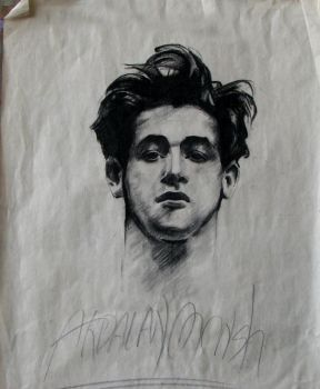 This is a portrait by Sargent which I drew when I by ardalanmonshi