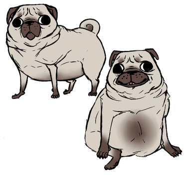 Fat Pug by BigshotBazooka
