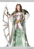 kenauer/trading_caste/female_guard by xistenceimaginations