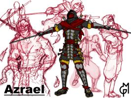 Azrael, One Piece OC by Greg-M