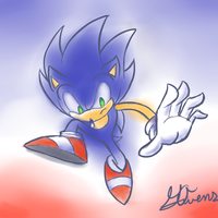 Da Blue Blur by Geemoney1022