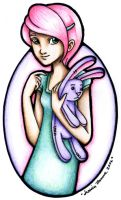 Cotton Candy Pink by Jessica-Tanner