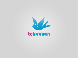 toheaven logotype by okiz
