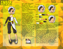Amber Character Sheet by BrittyDee