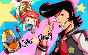 Space Dandy by kammy-baby