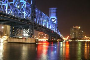 Jacksonville, FL Blue Bridge 2 by punchlick
