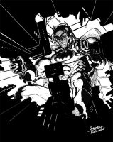 Inktober - TDKR by SamTodhunter