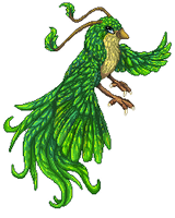 :CO: Emerald plumage by DodoIcons
