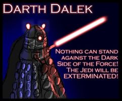 Darth Dalek by RichardAHallett