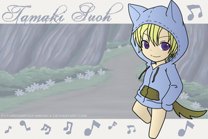 Tamaki Dog by FutureVampsofAmerica