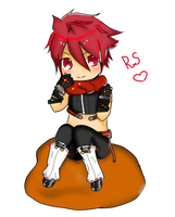 Elsword RS chibi by replica-luna