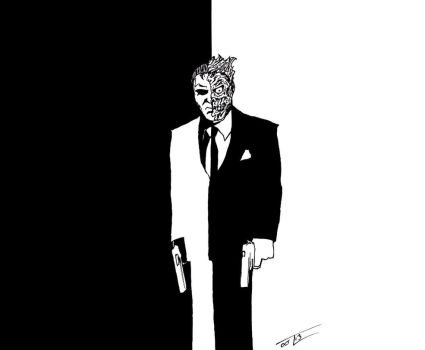 Twoface Scarface Style by tommycree
