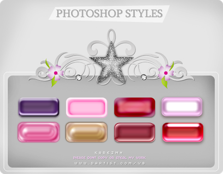 PHOTOSHOP STYLES by MISS-KAREZMH